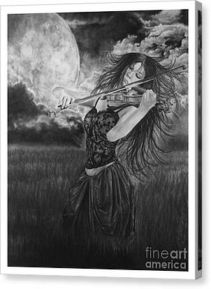 Windsong Canvas Print by Gary Rudisill