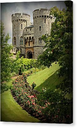 Elizabeth Canvas Print - Windsor Castle Gardens by Stephen Stookey