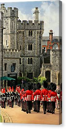 Windsor Parade Canvas Print by Stephen Stookey