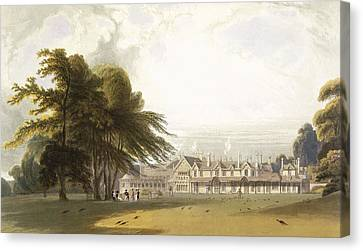 Windsor Park The Royal Lodge Canvas Print