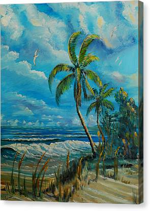 Windswept Beach Canvas Print