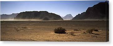Windswept Desert, Wadi Rum, Jordan Canvas Print