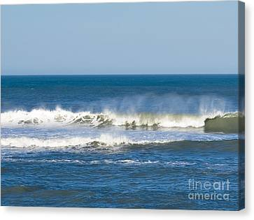 Windswept Surf Canvas Print
