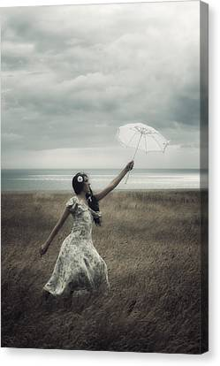 Windy Canvas Print