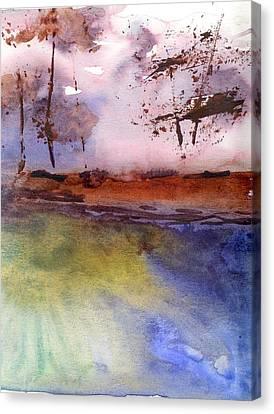 Windy Canvas Print by Marsden Burnell