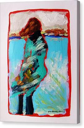 Windy Morning Canvas Print by John Williams