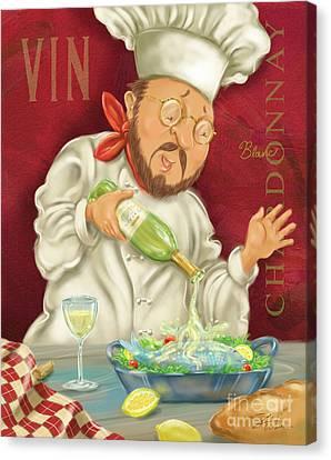 Wine Chef IIi Canvas Print
