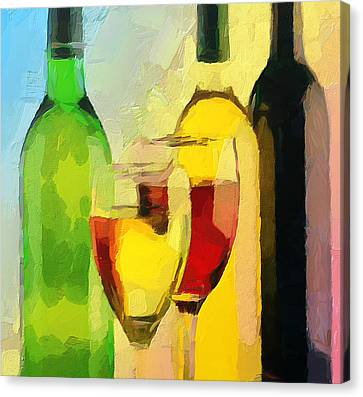 Wine Colors Canvas Print by Yury Malkov