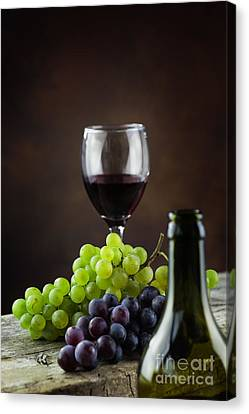 Wine Concept Canvas Print by Mythja  Photography