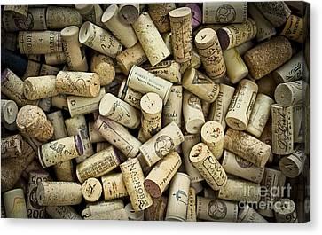 Wine Corks Canvas Print