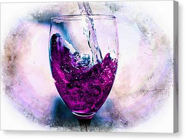 Pouring Wine Canvas Print - Wine Country by Aaron Berg