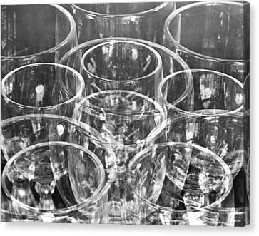 Wine Glasses , Mexico City, 1925 Canvas Print by Tina Modotti