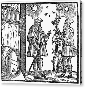Wine Merchant, 1582 Canvas Print by Granger