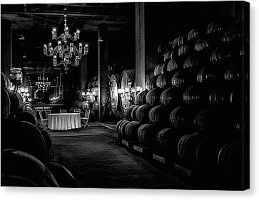 Chandelier Canvas Print - Wine Production by Jose Alpedrinha