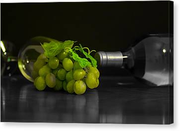 Wine Canvas Print by Stephen Smith