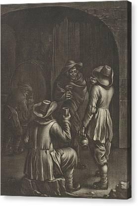 Wine Tasting, Jan Van Somer Canvas Print