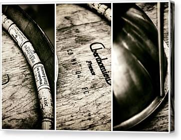 Wine Tasting Triptych Canvas Print