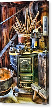 Winemaker - Time For A New Vintage Canvas Print by Lee Dos Santos