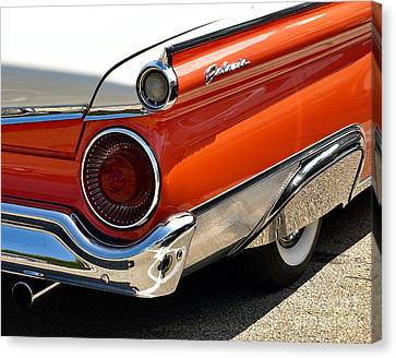 Wing And A Skirt - 1959 Ford Canvas Print