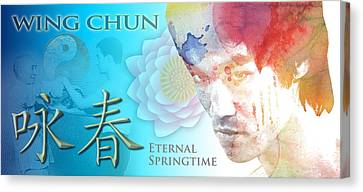 Wing Chun Eternal Springtime Canvas Print