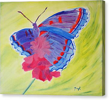 Winged Delight Canvas Print