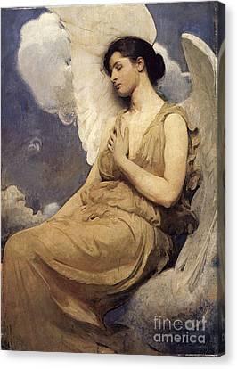 Winged Figure Canvas Print