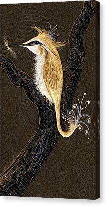 Winged Ribbonor Canvas Print