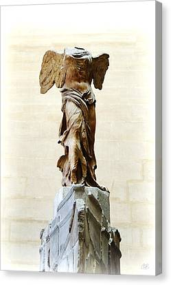 Winged Victory Of Samothrace Canvas Print by Conor O'Brien