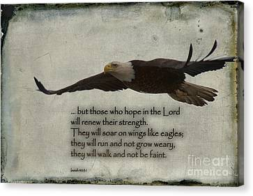 Wings Like Eagles Canvas Print