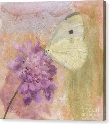 Wings Of Beauty Canvas Print by Betty LaRue