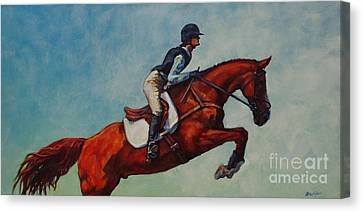 Farm Animal Canvas Print - Wings by Patricia A Griffin