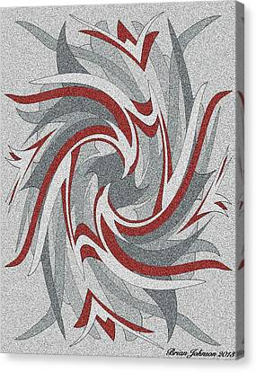 Wings Tile 3 Canvas Print