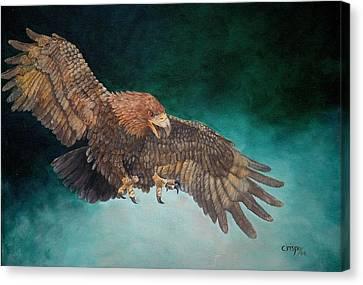 Wingspan Canvas Print by Jean Yves Crispo