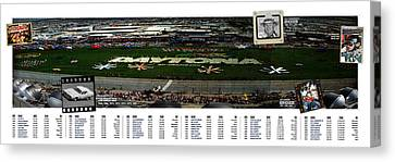Winners Of The Daytona 500 Canvas Print by Retro Images Archive