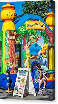 Inflatable Canvas Print - Winnie The No Pooh by Steve Harrington