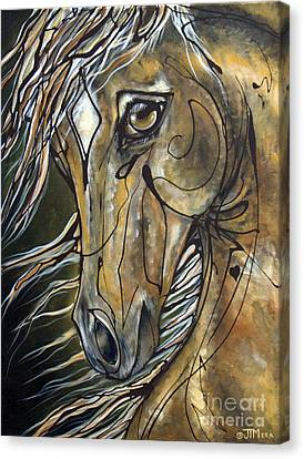 Winning Hand Canvas Print by Jonelle T McCoy