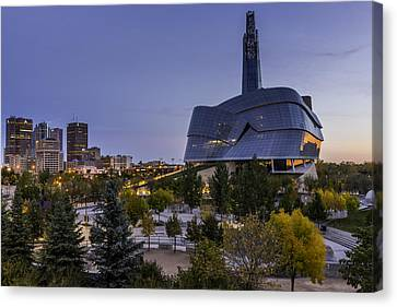 Winnipeg Dawn Canvas Print