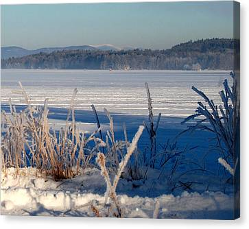 Winnisquam Winter Canvas Print