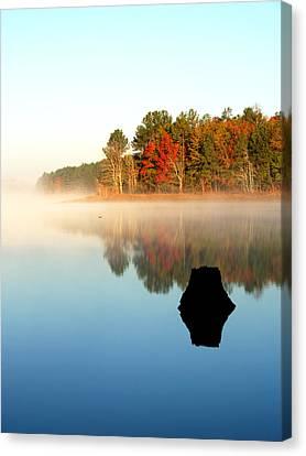 Winnsboro Reservoir-1 Canvas Print by Charles Hite