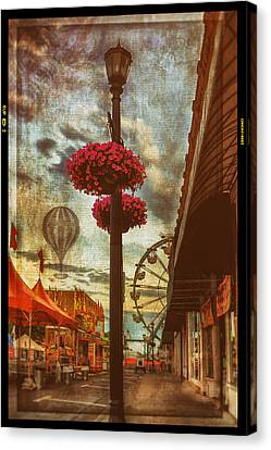 Winona Steamboat Days Canvas Print by Al  Mueller