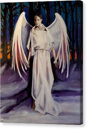 Winter Angel Canvas Print