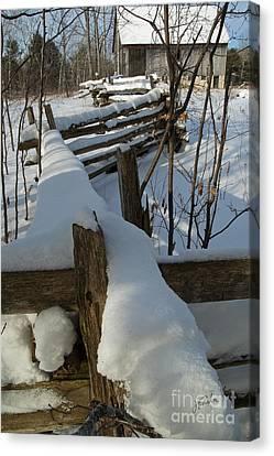Winter Barn IIi Canvas Print
