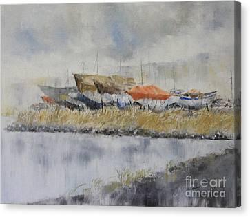 Winter Berth Canvas Print