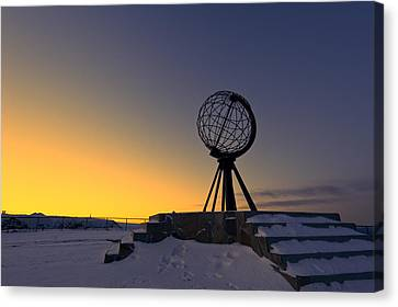 Winter Beyond The Arctic Circle Canvas Print by Ulrich Schade