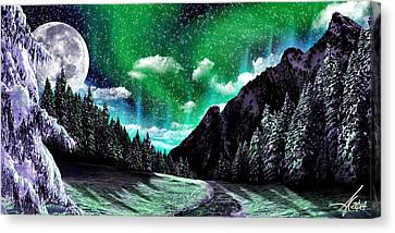 Winter Bliss Canvas Print by Anthony Citro