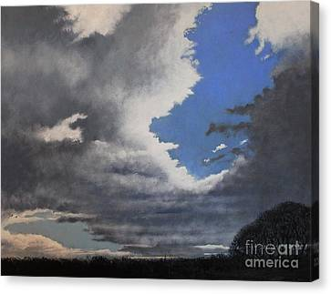 Winter Blues Canvas Print by Paul Horton