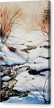 Winter Break Canvas Print by Hanne Lore Koehler
