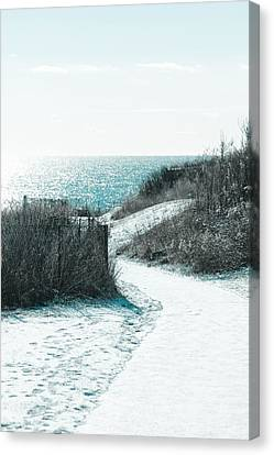 Canvas Print - Winter By The Sea by Allan Millora