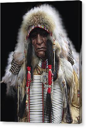 Winter Chief Canvas Print