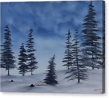 Winter Chill Canvas Print